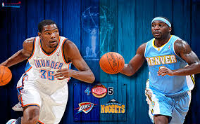 thunder vs nuggets 2011 nba playoffs widescreen photo
