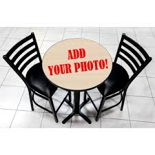 table top set with base and 2 bar stools 30 round wooden table 40 5 bar height