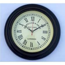 og vintage black wall clocks rs