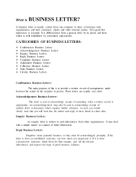Complain Business Letter What Is Business Letter