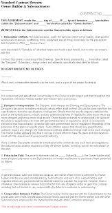 owner responsibility form construction management forms owner builder