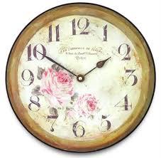 fl large parisian wall clock by