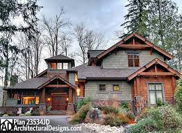 Rustic Two Story House Plans E2 80 93 Design And Planning Of Luxury Mountain Home Floor Plans