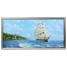 """<b>Картина</b> """"<b>Морская</b> прогулка"""" 70х33 см (4605749) - Купить по цене ..."""
