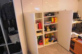finished basement storage ideas