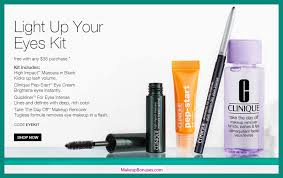 receive a free 4 pc gift with 35 clinique purchase
