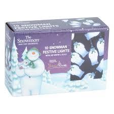 Indoor Snowman Lights The Snowman 10 Led Snowman Indoor String Light