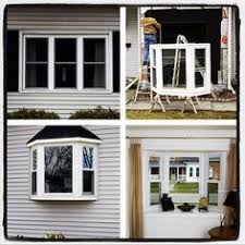 window replacement before and after. Simple Before Think About Adding A Bay Window Throughout Window Replacement Before And After E