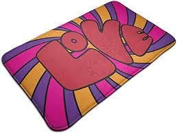 DaiMex <b>Floor Mat Abstract</b> (7) Bathroom Doormat Kitchen Floor Rug ...