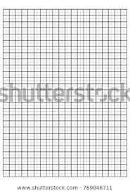 Engineering Graph Paper Printable Graph Paper Stock Vector Royalty
