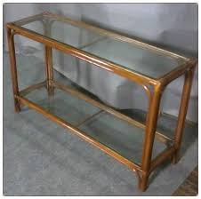 rattan console table. Closeout - Rattan Console Table