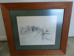 Sold Price: 1983 EVELYN RHODES PENCIL DRAWING - May 1, 0120 4:00 PM EDT