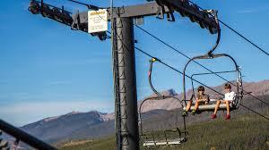 Summer Scenic Chairlift