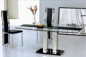dining room semi formal dining room decorating ideas with long modern glass top dining table