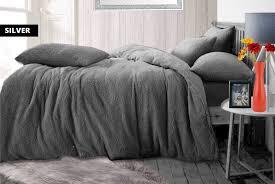 teddy fleece bedding set offer