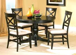 round kitchen tables for 6 dining table and chairs set sofa exquisite black round kitchen