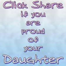 Proud Of Your Daughter Quotes Funny Facebook Status Proud Of My Mesmerizing I Love My Daughter Quotes For Facebook