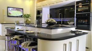 Living Kitchen Betta Living New York Hi Gloss Black Fitted Kitchen Youtube