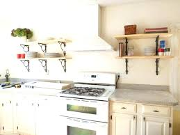large shelf decorating ideas kitchen shelves wall home depot open shelving interior design styles names corner