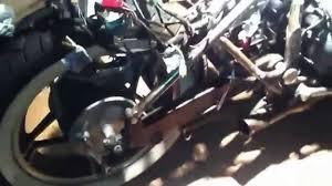 82 honda magna 750 bobber project