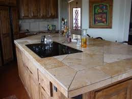 modern tile kitchen countertops. Contemporary Countertops Tiled Kitchen Countertop Design 2017 Best Tile Countertops With Modern I