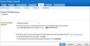Quickbooks Online Export Chart Of Accounts Setup Export Of Iop Data To Quickbooks Online Qbo