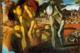 salvador dali the metamorphosis of narcissus 1937