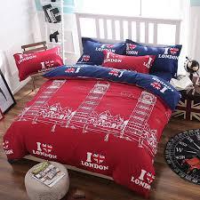 summer style paris street bedding sets cotton duvet cover bed sheet pillowcase not quilt queen twin full