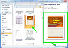 ms word 2007 template how to use templates in ms word ubergizmo