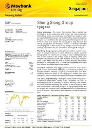 Sheng Siong Share Price Chart Sheng Siong Group Maybank Research Maybank Investment