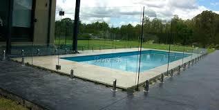 glass pool fencing bunnings nz frameless melbourne fence panels sunshine coast