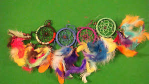 Small Dream Catchers For Sale CLEARANCE SALE SMALL DREAM CATCHERS WITH MULTI COLOUR RASTA 54
