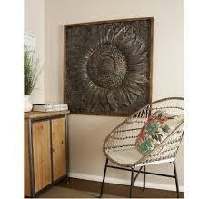 extra large sunburst carved sunflower
