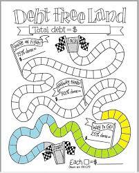 Free Printable Debt Free Charts Debt Free Land Debt Free Charts