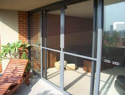 sliding flyscreen door