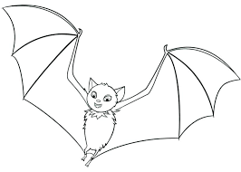 Rouge The Bat Coloring Pages Bats Page Hotel Flying Halftraininginfo