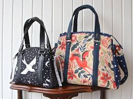 Handbag Patterns Impressive The Snowdrop Satchel In 48 Sizes PDF Sewing Pattern Blue Calla