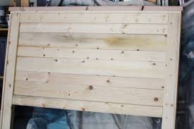 how to make a wood headboard aspiration diy king size have dad help me build and then paint it regarding 15 whenimanoldman com how to make a wood