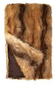 Red Fox Limited Edition Faux Fur Throws | Faux Fur Blankets ... & Red Fox Limited Edition Faux Fur Throws - 1 ... Adamdwight.com