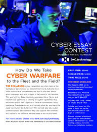 cyber essay contest u s naval institute cyber essay contest