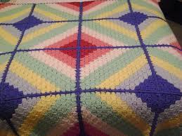119 best CROCHET - CORNER TO CORNER images on Pinterest | Kinder ... & Rainbow afghan - Beehive book # 433 page 6 - Multicoloured afghan - basket  weave pattern. Crochet BlocksCrochet SquaresCrochet EdgingsCrochet  AfghansCrochet ... Adamdwight.com