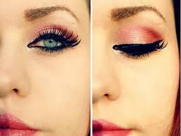 red riding hood make up tutorial coul be found on you ruby make little