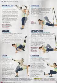 Printable Trx Exercise Chart Printable Sample Trx Workouts Form Trx Workout Pdf Trx