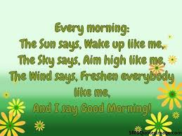 Good Morning Sms Quotes Best of Backgrounds And I Say Good Morning Sms Quotes Image With Quotations