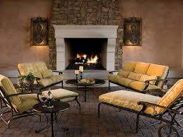Outdoor patios with fireplace Brick Fireplace Decked Out Hgtvcom 20 Cozy Outdoor Fireplaces Hgtv