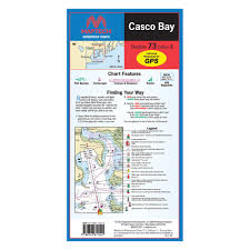 Maptech Wpc073 Casco Bay Waterproof Chart