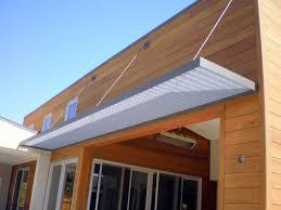 custom steel awning