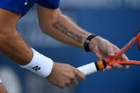 Tenisová Móda Na Us Open Tetování Ekg Na Hlavě I Pestré Barvy