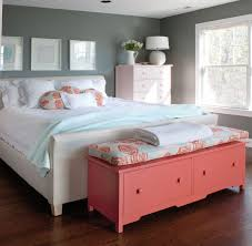 Good Bedroom Decorative Bench Design With For Red Inspirations 29