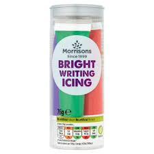 Morrisons Bright Writing Icing Pack | Morrisons
